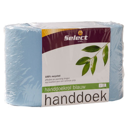 HAND TOWEL ROLL 2L BLUE *SELECT*