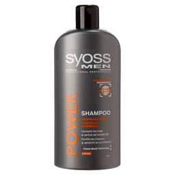 SYOSS SHAMPOO 500ML MEN *OPRUIMPRIJS*