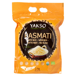 BASMATI RICE WHITE BIO