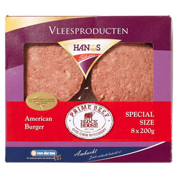HAMBURGER SUPER AMERIKAN. 8 X 200GR