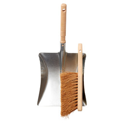 Dustpan set galvanized bannister brush