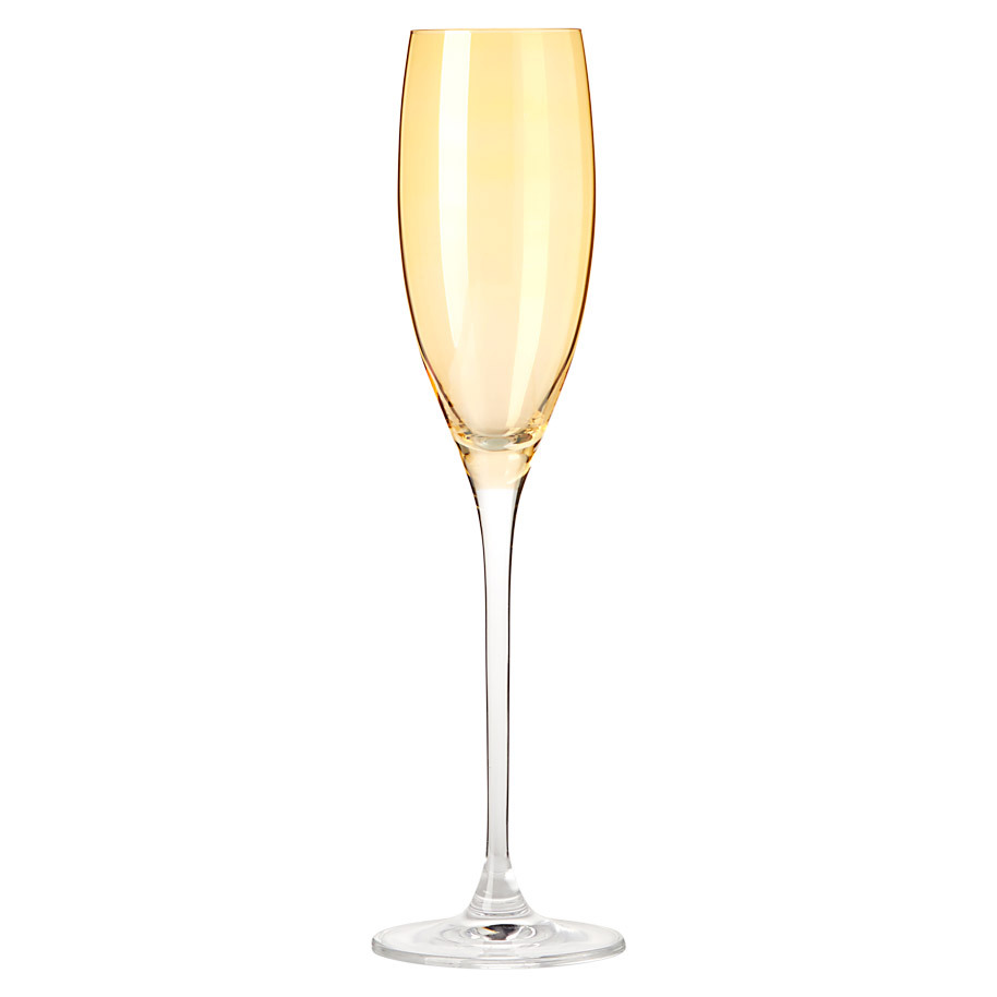 CHAMPAGNEGLAS LUCENTE 22CL AMBER