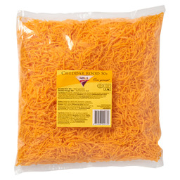 CHEDDAR GRATED RED 3MM
