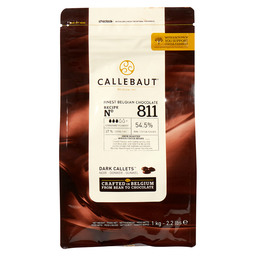 KUVERTUERE CALLETS DUNKEL 54,5% CACAO