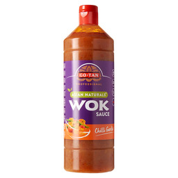 WOKSAUS CHILLI GARLIC ASIAN NATURALS