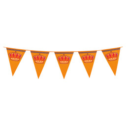 GIANT PENNANT BANNER PE KING'S DAY 8M
