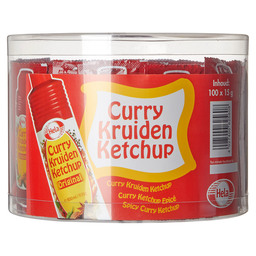 CURRY KETCHUP 15 GR SACHETS