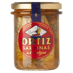 SARDINES OLD STYLE IN OLIVE OIL