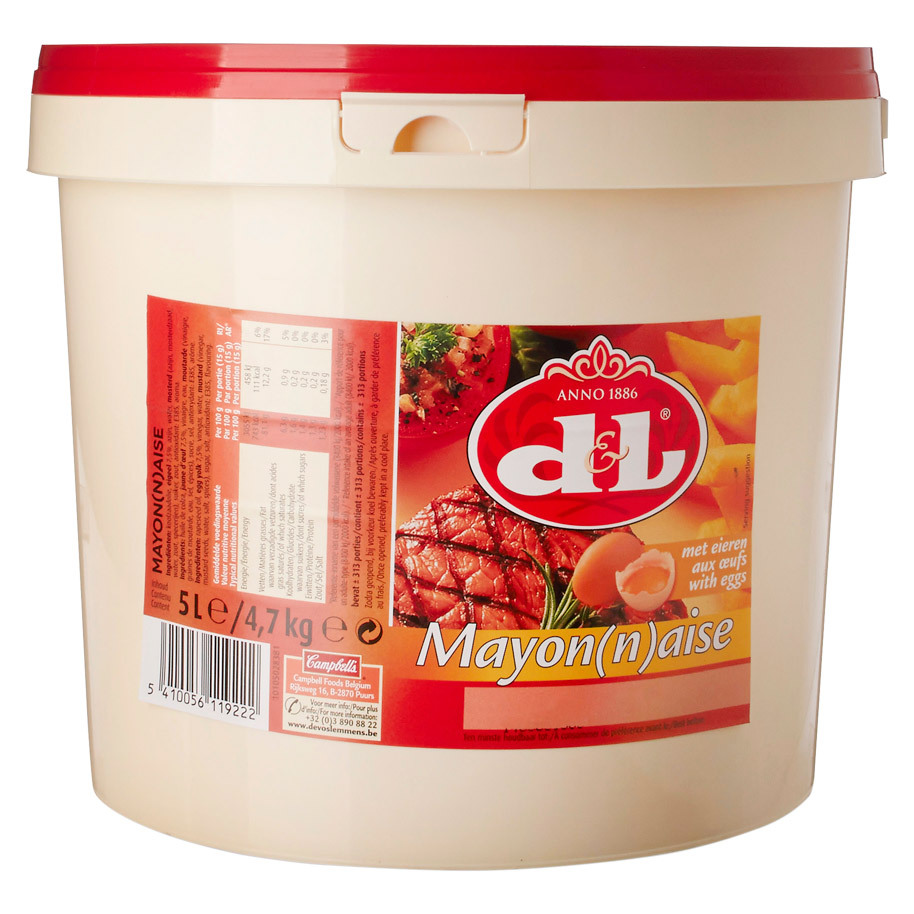 D&L MAYONNAISE A L'OEUF