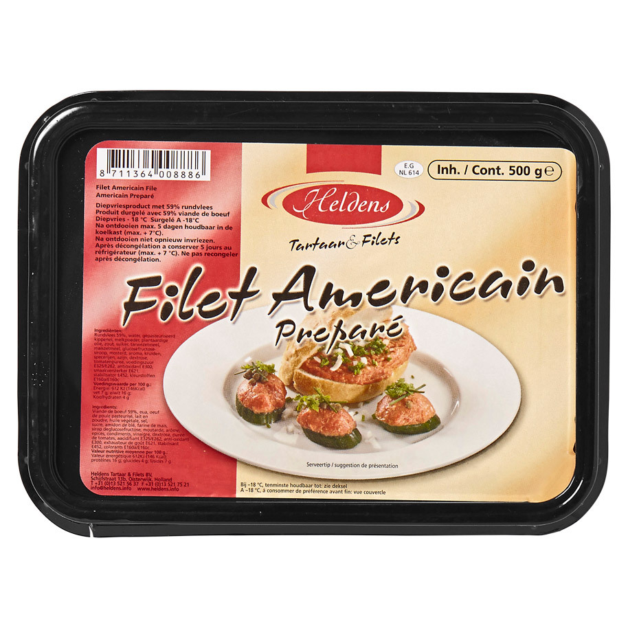 FILET AMERICAIN HELDENS