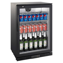 BAR FRIDGE 1-DEURS BLACK