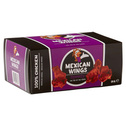 CHICKEN WINGS MEXICAN GEGAARD 1 KG