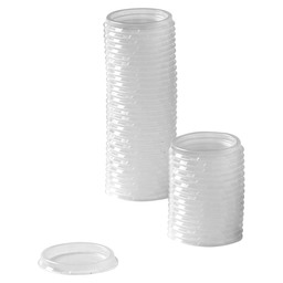 LID DRESSING CUP TRANSPARENT 30CC
