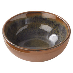 BOWL SURFACE 11X4,5CM INDI-GRAY