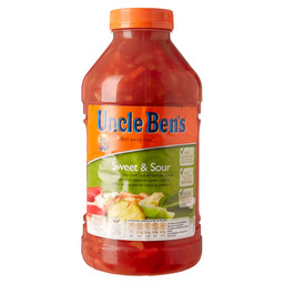 SWEET AND SOUR SAUCE+VEGETABLES