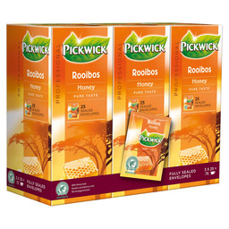 THEE ROOIBOS HONING PROF 25X1,5GR