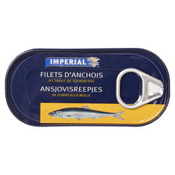 ANCHOVY FILETS IN SUNFLOWER OIL
