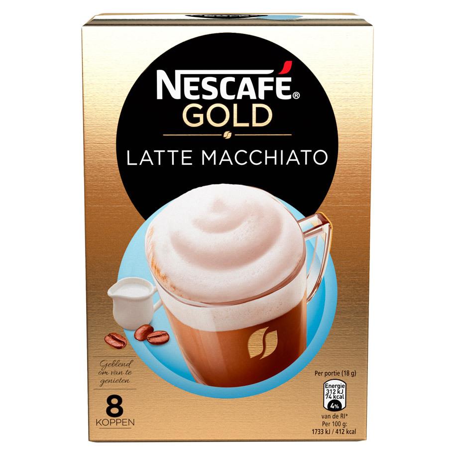 NESCAFE LATTE MACCHIATO 8X18GR