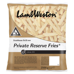 FRITES PRIVATE RESERVE 9X18MM STEAKHOUSE