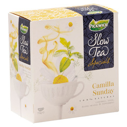THEE CAMILLA SUNDAY PICKWICK SLOW TEA
