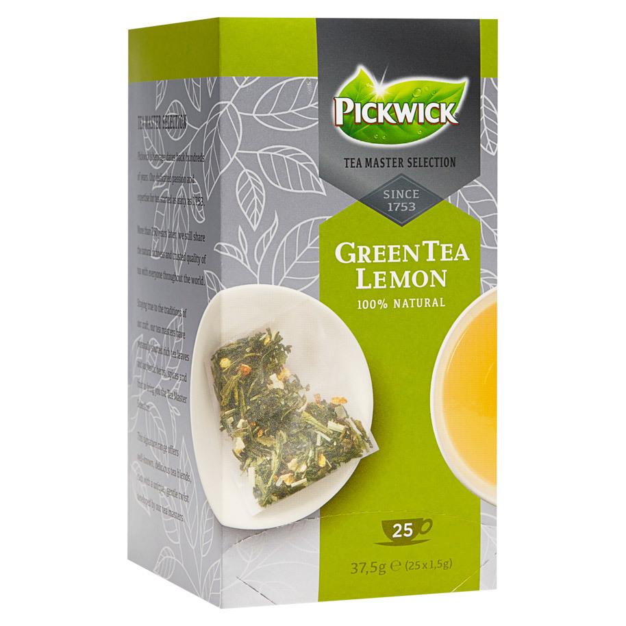 TEA MASTER SELECTION GREEN TEA LEMON