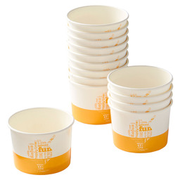 ice cream cup COLOUR L 300CC-10OZ