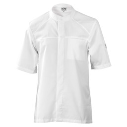 CHEF JACKET SALERNO SFX WHITE SHORT SLEE
