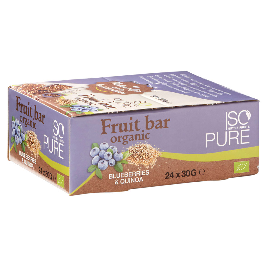 SOPURE BAR FRUIT NUT BLUEB-QUI BIO 30GR