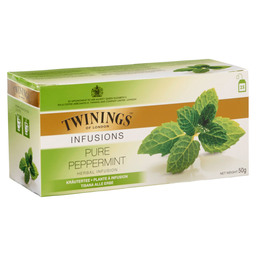 TEE PURE PEPPERMINT TWINNINGS