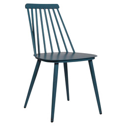 EDSON CHAIR ALU - NAVY BLUE