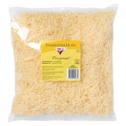 EMMENTALER GRATED 3 MM GERMAN