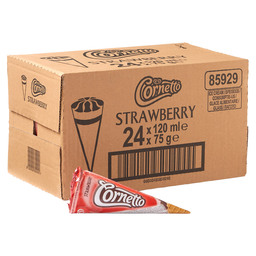 CORNETTO STRAWBERRY 125ML
