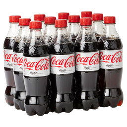 COCA COLA LIGHT 50CL  PET FLES