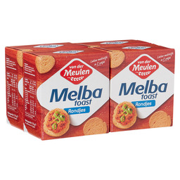 MELBA TOAST ROND NATUREL 110GR