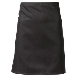 APRON P/K BLACK 50X100CM TEN KATE