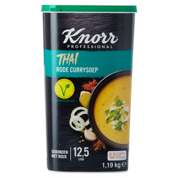 THAISE RODE CURRYSOEP 12,5L KNORR WERELD