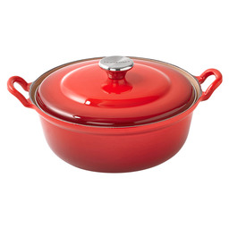 FRYING PAN 24 CM FAITOUT CHERRY RED