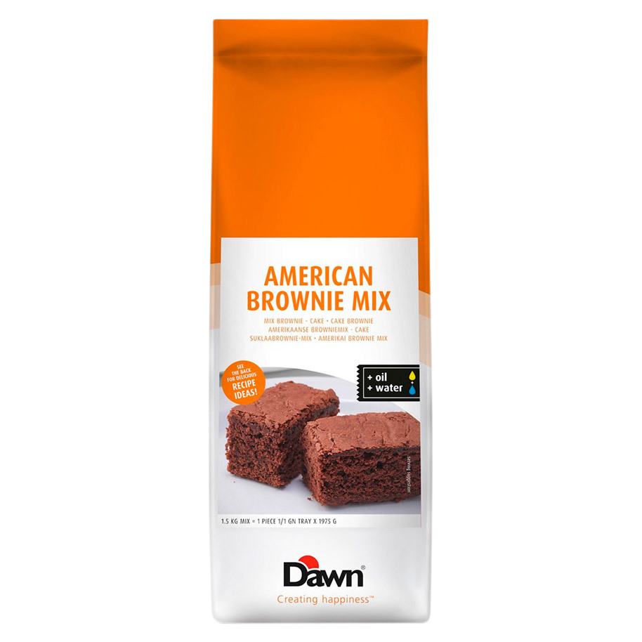 AMERICAN CAKE BROWNIE MIX