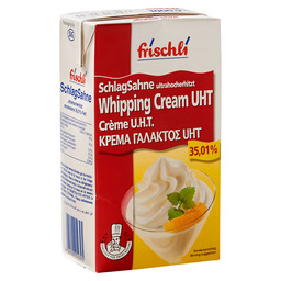 WHIPPING CREAM 35% UHT UNSUGARED