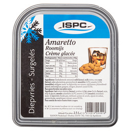 ICE-CREAM AMARETTO ISPC