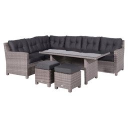 EARLY BIRD DINING /LOUNGESET GREY 5-DLG