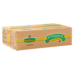FRITESSAUS 25% SAUSKING BAG-IN-BOX