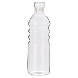 WATER BOTTLE 23CM WITH LID