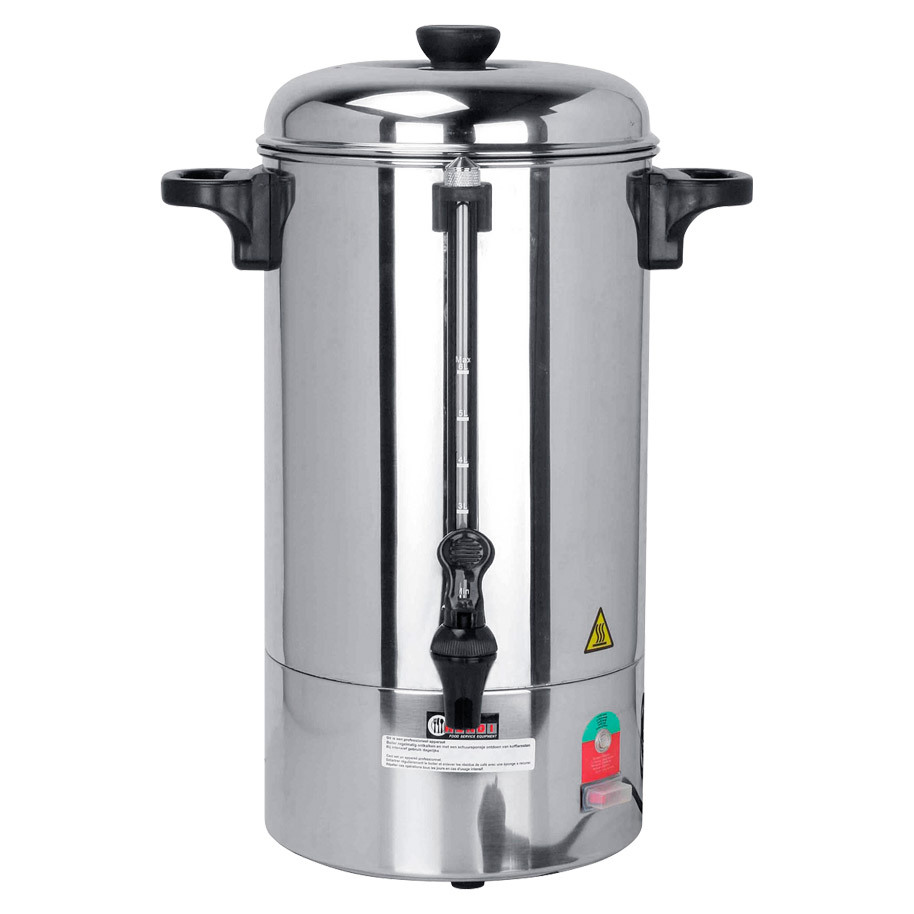 PERCOLATOR 40 KOPS  RVS MANTEL.