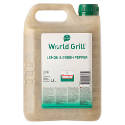 MARINADE LEMON&GREEN PEPPER, WORLD GRI