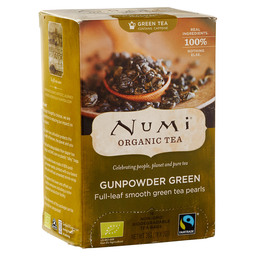 THEE GUNPOWDER GREEN TEA BIO / FAIRTRADE