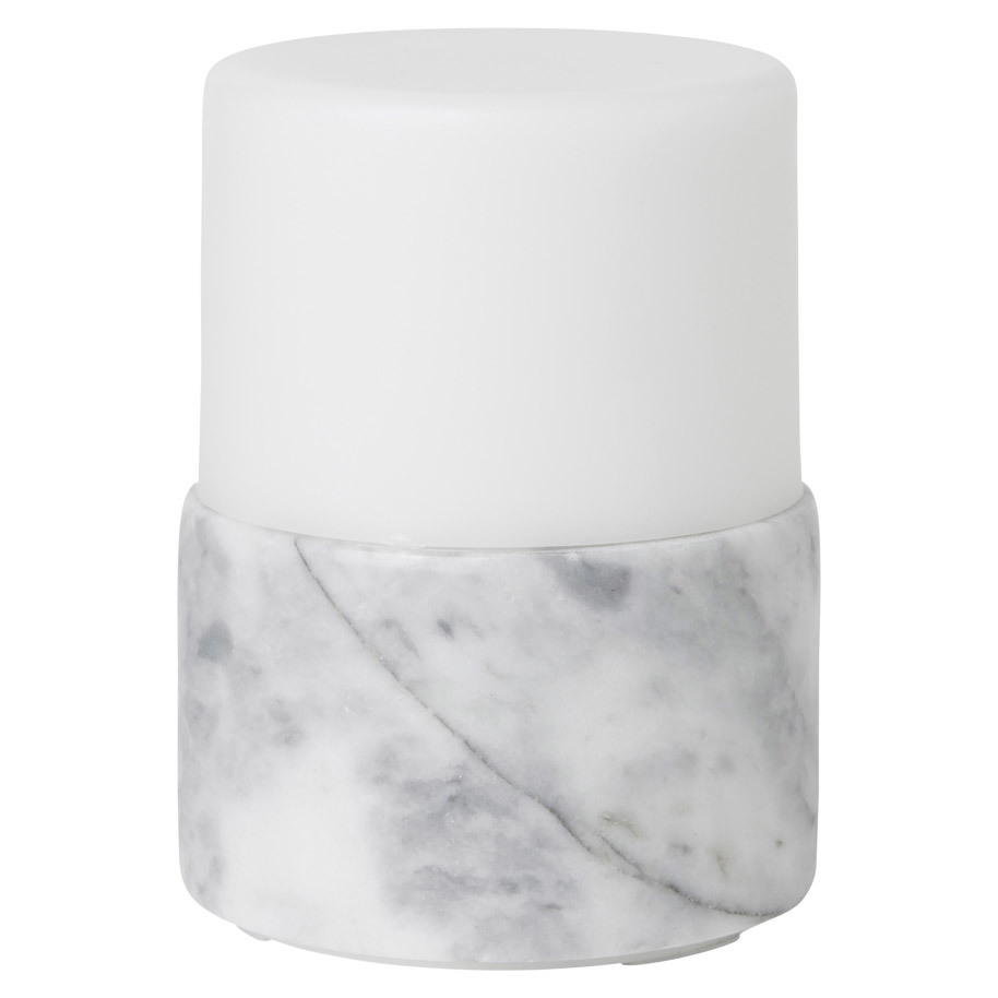 CANDLE HOLDER MARBLE BRIGHT 10,5X7,5CM