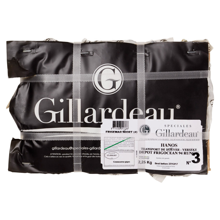 SPECIALE GILLARDEAU OESTERS NR.3   V