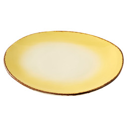 BORD PLAT 30CM RETRO OFF LEMON