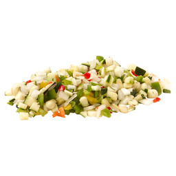 RATATOUILLE MIX 10MM  (ZONDER WORTEL)
